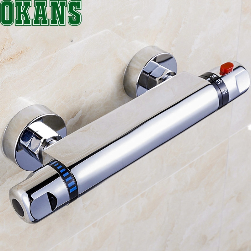 New Thermostatic Mixing Valve For shower Faucet Automatic ...