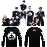BTS Hoodies Sweatshirts Jungkook J Hope JIN Jimin V Suga Cotton Kpop BTS Sweatshirt Moletom Moleton