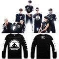 Bts Hoodies camisolas Jungkook J - a JIN Suga Jimin V algodão Kpop BTS Bangtan meninos BTS camisola Moletom Moleton Feminino