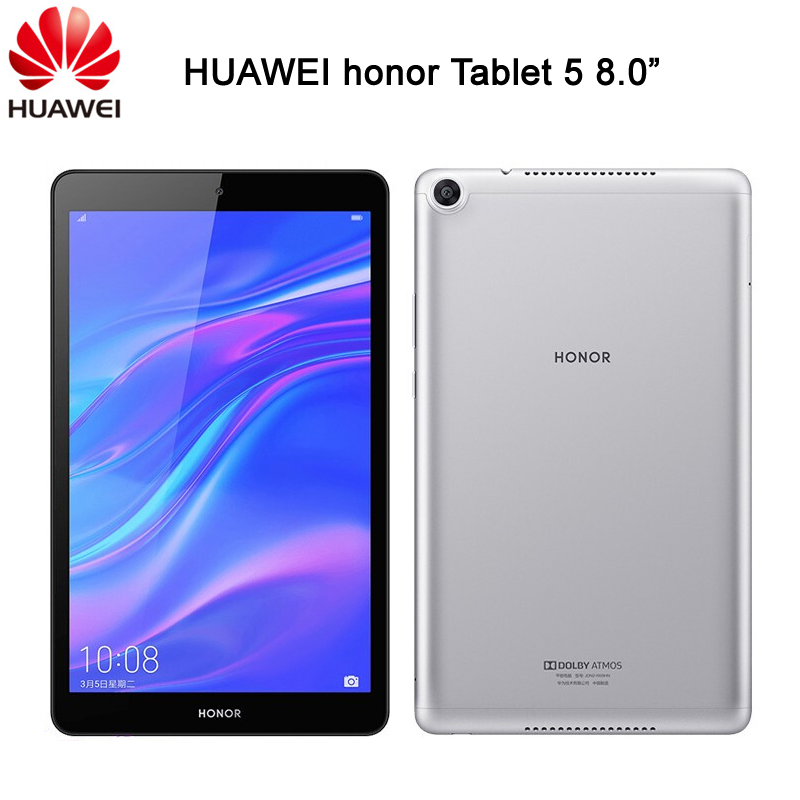 Huawei Honor Tablet 5 Mediapad T5 8 дюймов 32 ГБ/64 Гб Kirin 710 Octa Core OTG 8.0MP Face ID FHD 1200x1920 5100 мАч GPU Turbo 2,0