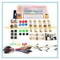 Pacote de peças genéricas Para Arduino kit + 3.3 V/5 V módulo de potência + MB-102 830 pontos Placa De Ensaio + 65 cabos Flexíveis + caixa de fio jumper