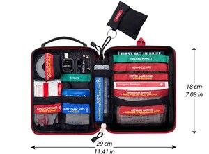 Image 5 - ミニ応急処置キットギア医療外傷キット車の緊急キットライフガード救助機器サバイバルキット軍事