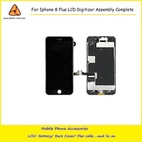 2PCS LOT For Iphone 8Plus Full Screen Replacement LCD Touch Assembly Front Camera Earpiece Speaker Shield