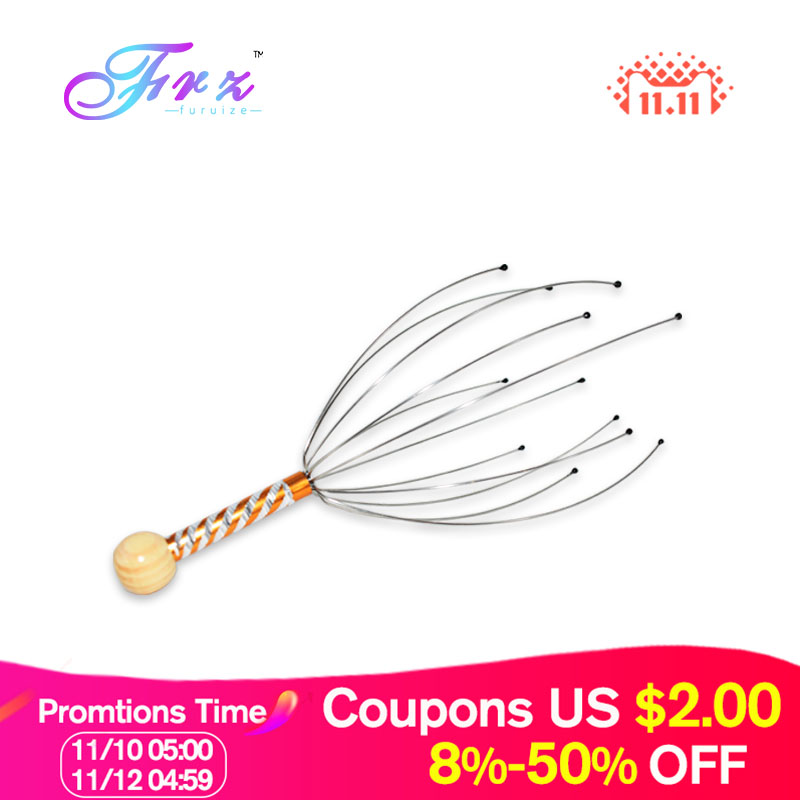 Claw Massager Body Massager Octopus Head Scalp Neck comfortable Massage & Relaxation Massage Relief Pain Head Care
