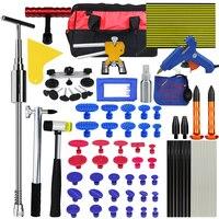 PDR Tools Car Body Repair Kit Tool To Remove Dents Auto Repair Tool Dent Puller Glue Gun Hammer Tap Down Pen