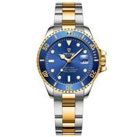 TEVISE Women's Watch Automatic Mechanical Top Luxury Brand Business Fashion Steel Luminous Waterproof Watches Relogio Masculino