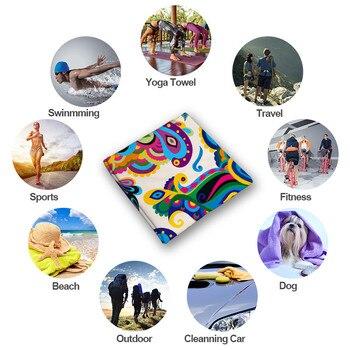 Microfine Microfiber Beach Towel Machine Quick Dry Adult Bath Towel Gym Sport Hiking Yoga Mat Large Blanket Travel Camping 6
