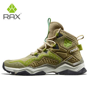 Rax 2019 New Style Light Breathable Hiking Shoes Men Outdoor Sports Sneakers for Man Trekking Boots Tactical Shoes Man Travel