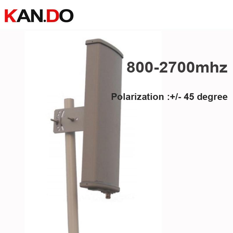 2 г 3g 4 г усилитель антенны 12dbi двойная поляризация +/ 45 градусов 800 2700 МГц панель Антенна базовая станция Использование 2 г 3g 4 г Антенна