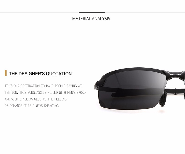 c76f5af40eb HINDFIELD 2017 New Brand Designer Polarized Sunglasses Men Driving ...