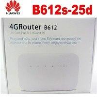 Lot of 500pcs Huawei B612 Unlocked 4G LTE Cat 6 CPE B612s 25d wifi router 300Mbps Mobile MIFi
