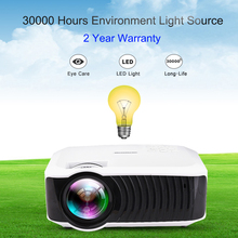 Portable Wired Mirroring Mini LED Projector for Home Cinema