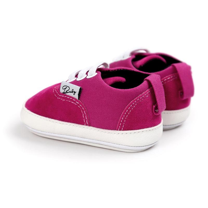 Wiosna Jesień Dziecko Noworodka Dziewczynka Chłopiec Miękkie Podeszwy antypoślizgowe Maluch Prewalker Niemowląt Sneaker Buty Na Co Dzień 30