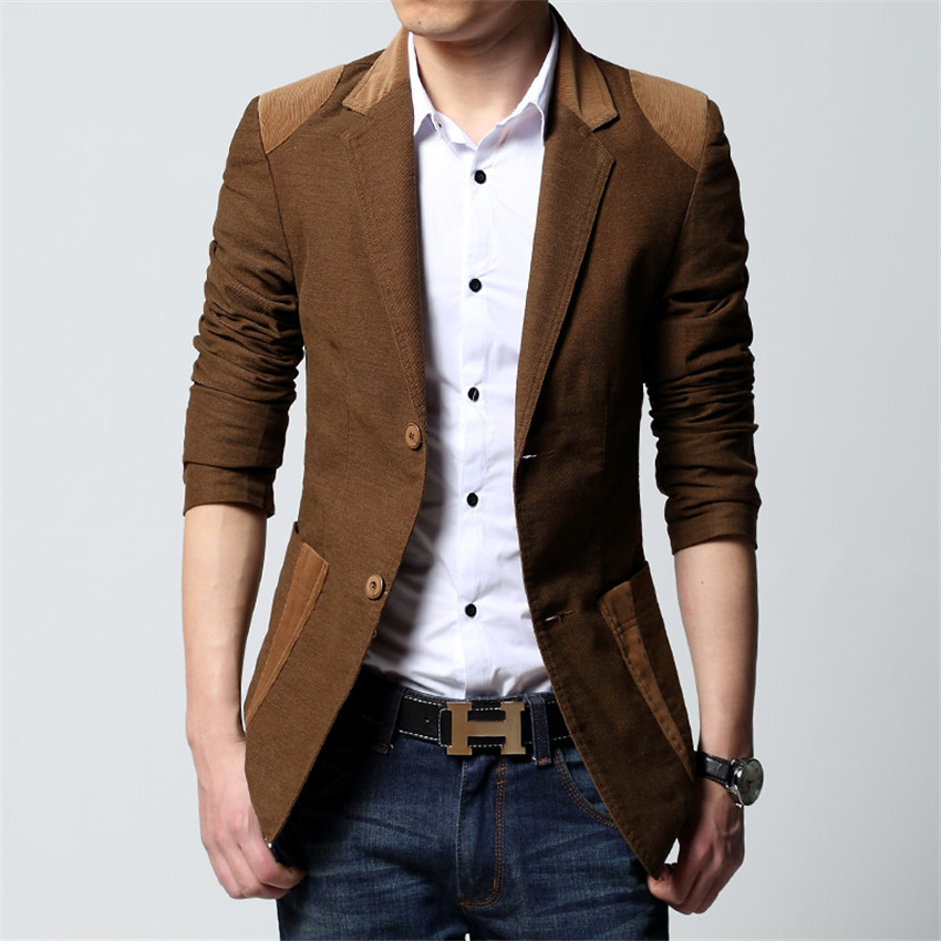 There are various designer blazers for men here. The styles are all trendy, such as floral printed blazers, plaid blazers and striped blazers. About the color, you can get any which you like including black, white, light blue, navy blue, red, grey, burgundy, maroon, cream, tan, brown, camel, green, purple, gold, beige, khaki, pink and so on.