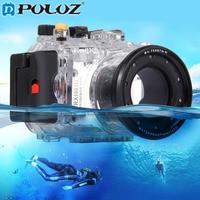 PULUZ 40m 130ft Depth Underwater Swimming Diving Case Waterproof Camera bag Housing case for SONY RX100 III DSC RX100 III