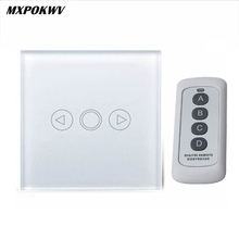 EU / UK Standard Sentuh Dimmer Switch, RF Kontrol Smart Home Light Switch, LED Dimmer Switch Touch 220V, Modul Otomasi Cerdas