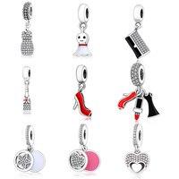 2016 Autumn Winter Collection Opulent Heart Charm 925 Sterling Silver Bead Fit Orignal Pandora Charm Bracelet