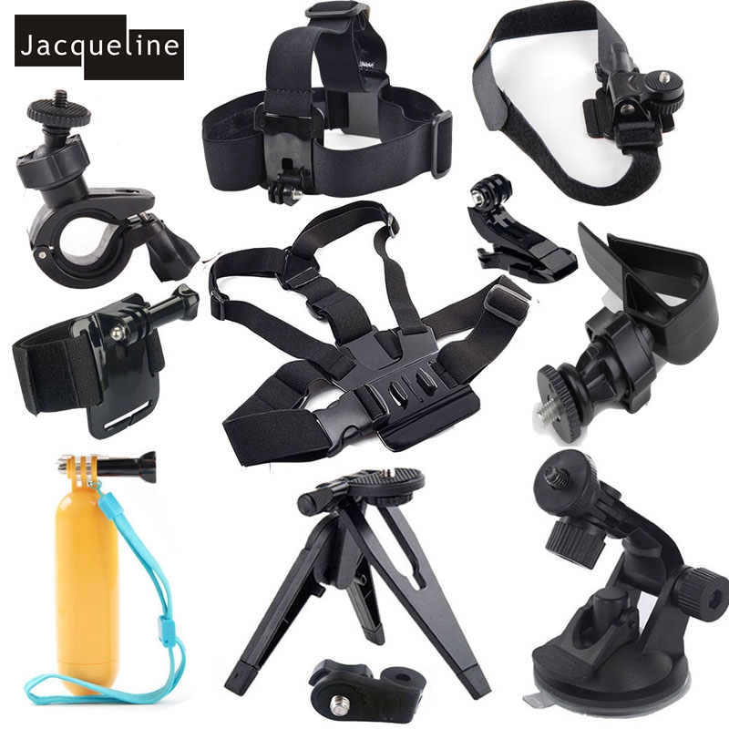 Float Hand Grip Suction Cup Bike kit Accessories for Sony Action Cam HDR-AS50 AS20 AS30V AS100V AS200V X100V/W 4K sony hdr az1vr