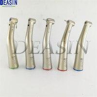 Top quality 1 pcs Dental Fiber Optical LED /non fiber optic Contra Angle Low Speed Handpiece 1:1 1:5 20:1 Deasin