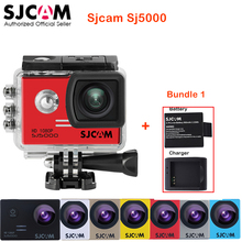 100% Original SJCAM SJ5000 Outdoor Action Sports Camera 30M Waterproof Underwater Sj 5000 Cam DV With a Battery and a charger
