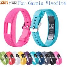 Replacement Silicone Wrist Band Strap for Garmin VivoFit 4 Fitness Activity Tracker Bracelet Watchbands VivoFit4 New
