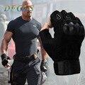 Мужские тактические перчатки в стиле милитари, Нескользящие Тактические перчатки из углеродного волокна с полупальцами в стиле милитари и ...