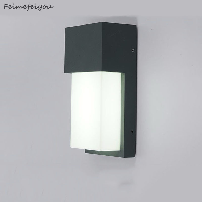 Contracted outdoor wall lamp, villa and courtyard corridor Contracted and wall lamp IP54 waterproof, dustproof not easy to rust