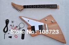 Unfinished Gitarre Kit Neue Explorer Custom Shop 50th Anniversary Korina E-gitarre