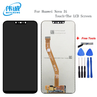 For Huawei Nova 3i LCD Display +Touch Screen Digitizer Assembly Replacement Parts+Tools for Nova 3i INE LX1 INE LX2 INE L21