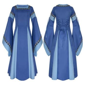 Косплей средневековое платье в ассортименте 1