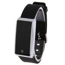 Водонепроницаемый Bluetooth спортивные сердечного ритма трекер сна passopeter секундомер смарт-браслет