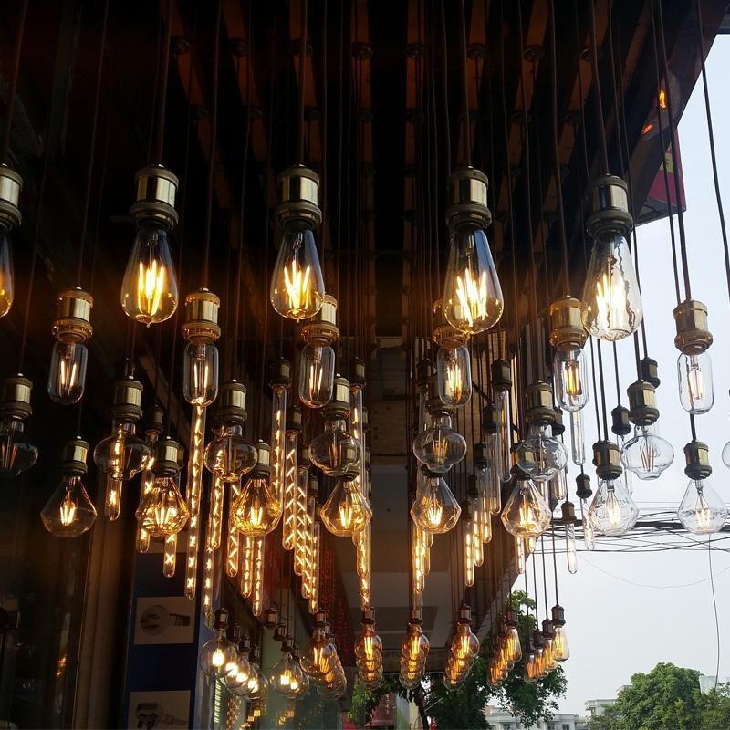 Edison lâmpada luminaria retro lâmpada bombilla industrial