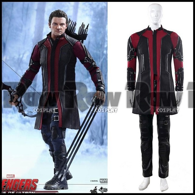 Hot sale Custom-made The Avengers Age of Ultron costume Hawkeye cosplay clothing suit  sc 1 st  AliExpress.com & Hot sale Custom made The Avengers: Age of Ultron costume Hawkeye ...