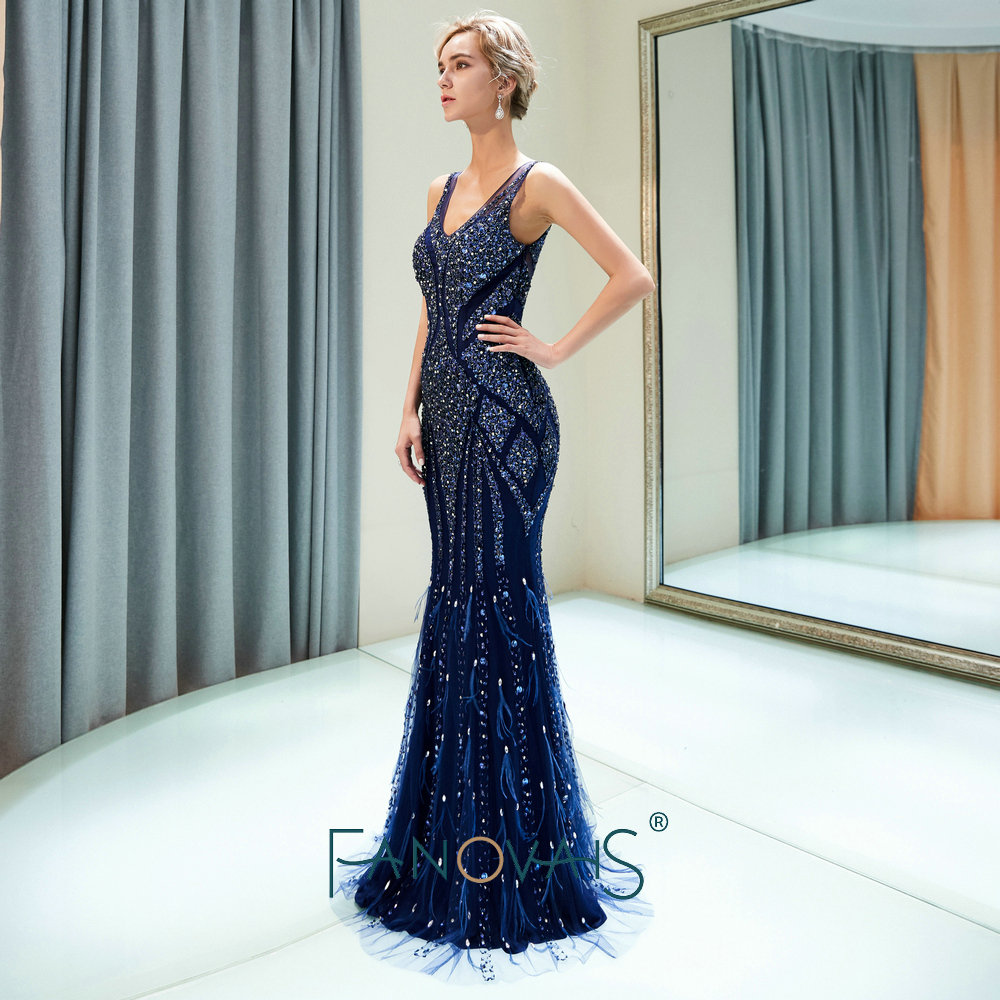 2abca30df 2019 Simple azul real vestidos de baile Satin Spaghetti Burdeos vestidos de  noche Cruz Sexy formal vestido de fiestaUSD 79.75 piece