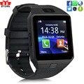 На Складе Носимых Устройств DZ09 Bluetooth Smart Watch Поддержка Камеры SIM TF Карта Наручные Часы-Телефон наручные спорт Multi-language