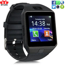 Wearable Device DZ09 Bluetooth Smart Watch Support SIM TF Card Wrist Phone Watch Android smartphone sport wristwatch Women Men