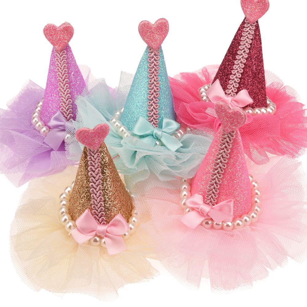 3PCS Boutique Pearl  Crown Fashion Hair Accessories  Cute Headwear No Hair Clips Barrette  For Hairband Headband No Hairbows