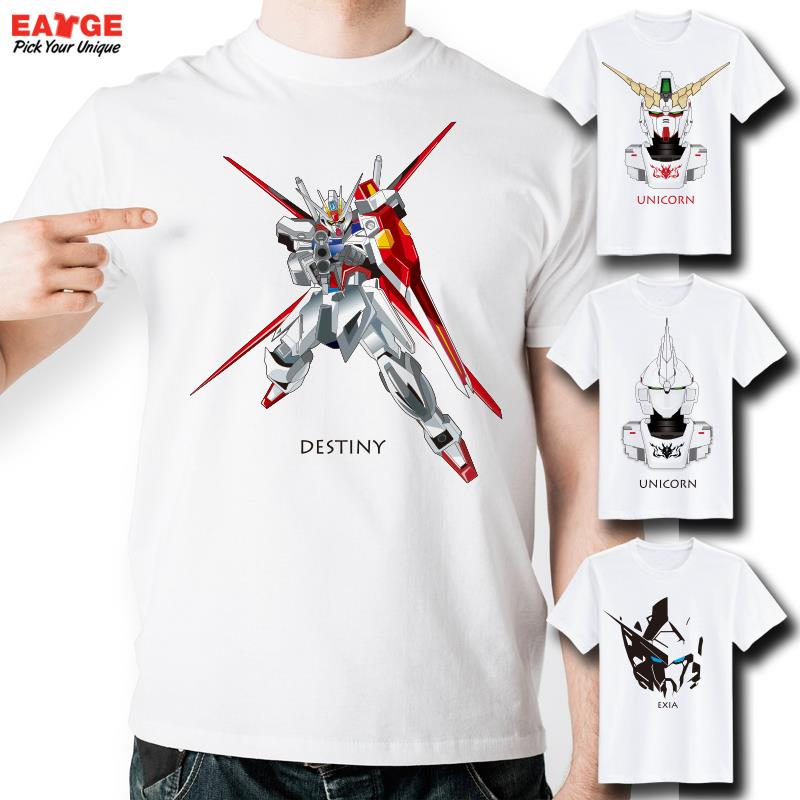 Gundam T Shirt Design Inspired By Game Robot Wars T shirt Anime Cartoon Cool Fashion Style Novelty Tshirt Men Women Printed Tee in T Shirts from Men 39 s Clothing