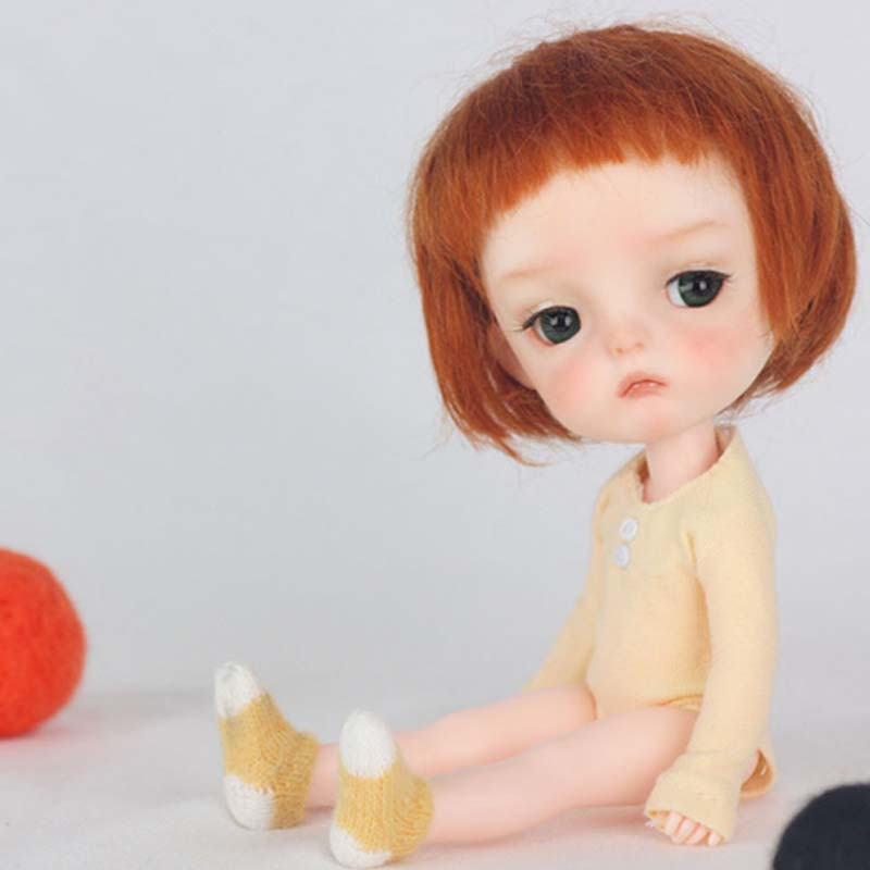 New Arrival <font><b>1/8</b></font> <font><b>BJD</b></font> Doll <font><b>BJD</b></font>/SD Ming Cute Lovely Resin Doll With Eyes For Baby Girl Birthday Gift image