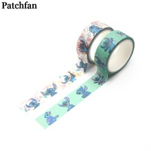 Patchwork point meme cosplay enfant bande dessinée album livre bricolage Scrapbooking adhésif washi ruban de masquage impression motif autocollant A2020(China)