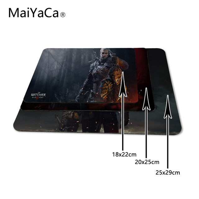 MaiYaCa Pattern The Witcher 3 Designs Mouse Pad Gaming Or Office Mice Play Mats  Mouse Pad