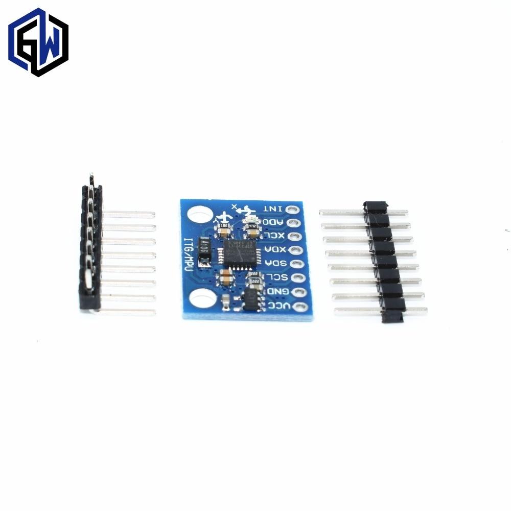 50PCS LOT GY 521 MPU 6050 Module mpu6050 module 3 Axis analog gyro sensors 3 Axis