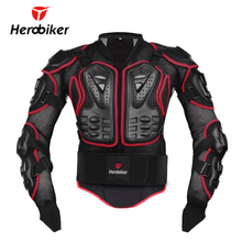 HEROBIKER Motorcycle Riding Armor Body Protector Motocross Off Road Racing Jacket Guard Extreme Sport Protective Gear