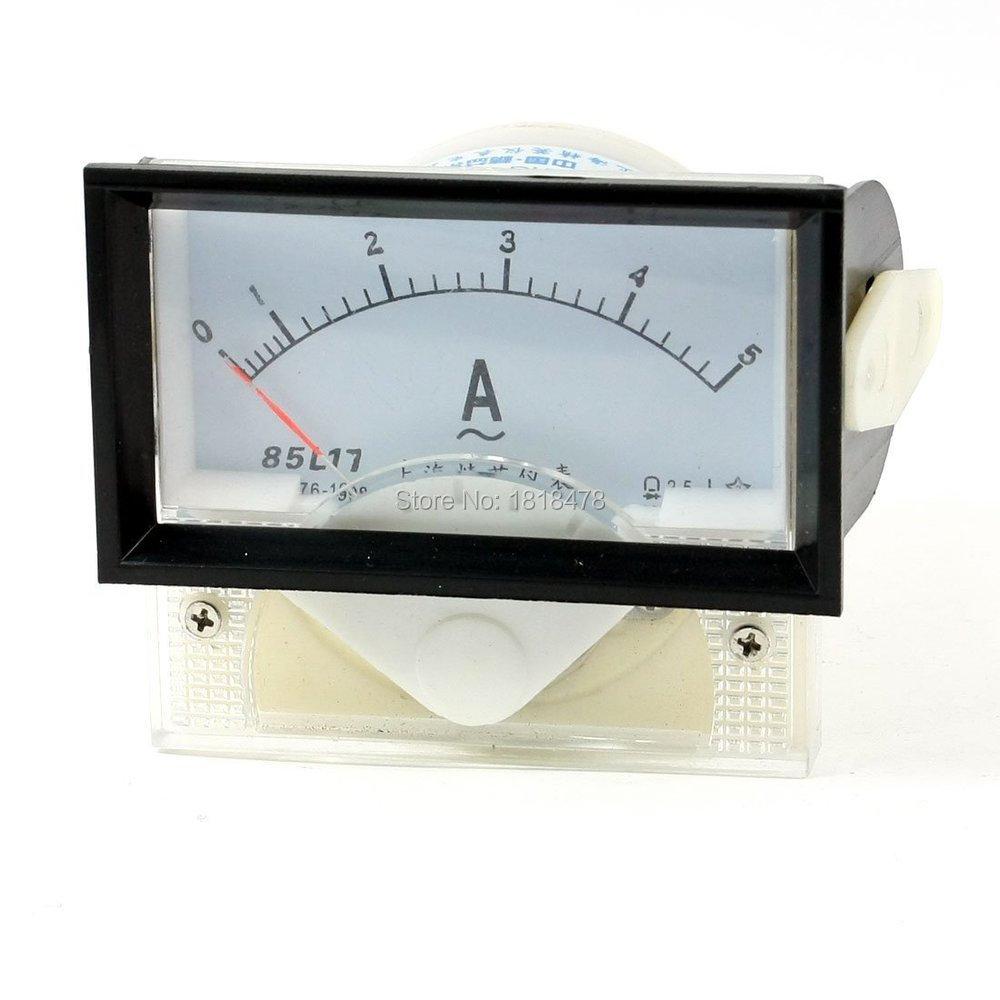 85L17 AC 0-5A 1A 2A 3A 10A 15A 20A 30A 50A Аналоговый амперметр, измерительный прибор с панелью, амперметром 70*40 мм