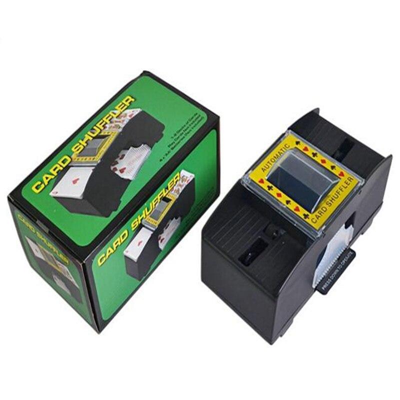 Automatic Poker máquina de barajado familia accesorios de juego de plástico ordinarias Simple 1-2 pares convencionales de hogar Shuffler Estante de almacenaje para cocina de 2/3/4 capas, Torre deslizante delgada, montaje movible, estante de plástico para baño, ruedas organizador de ahorro de espacio
