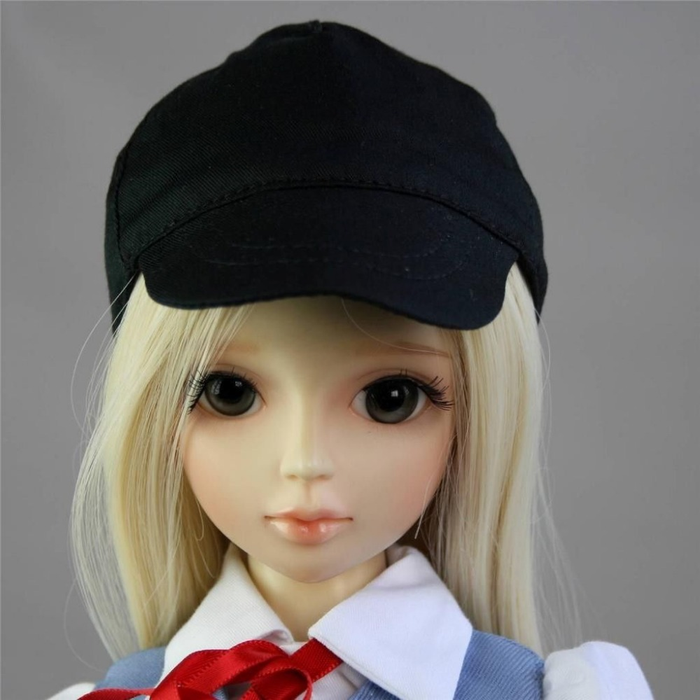 [wamami] 21# Black Baseball Leisure Cap/Hat 1/3 SD DOD DZ LUTS BJD Doll Dollfie