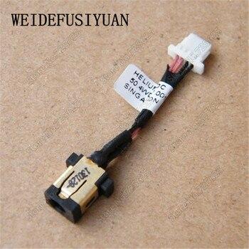 10 unids/lote AC DC cable Jack de alimentación puerto de arnés para...