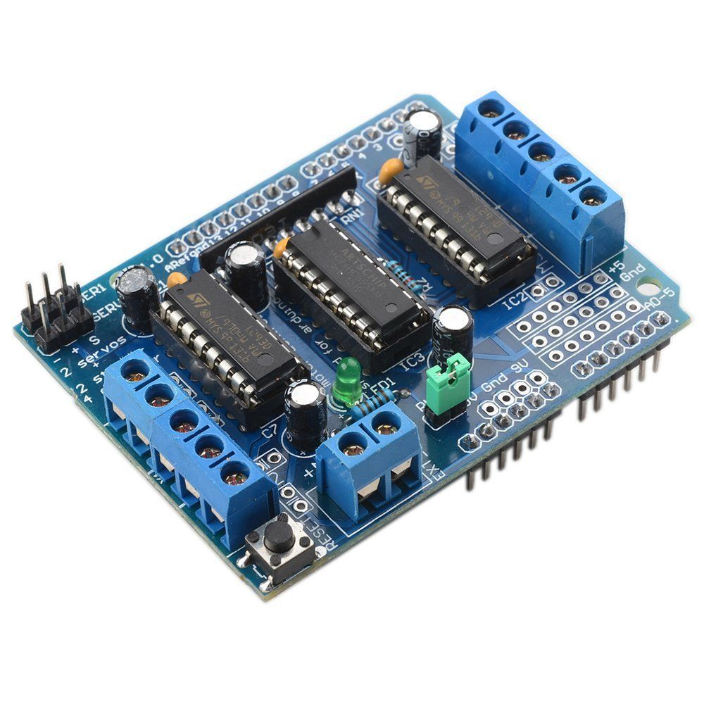 1pcs Motor Drive Shield Expansion Board L293D for Arduino Mega UNO Due1pcs Motor Drive Shield Expansion Board L293D for Arduino Mega UNO Due