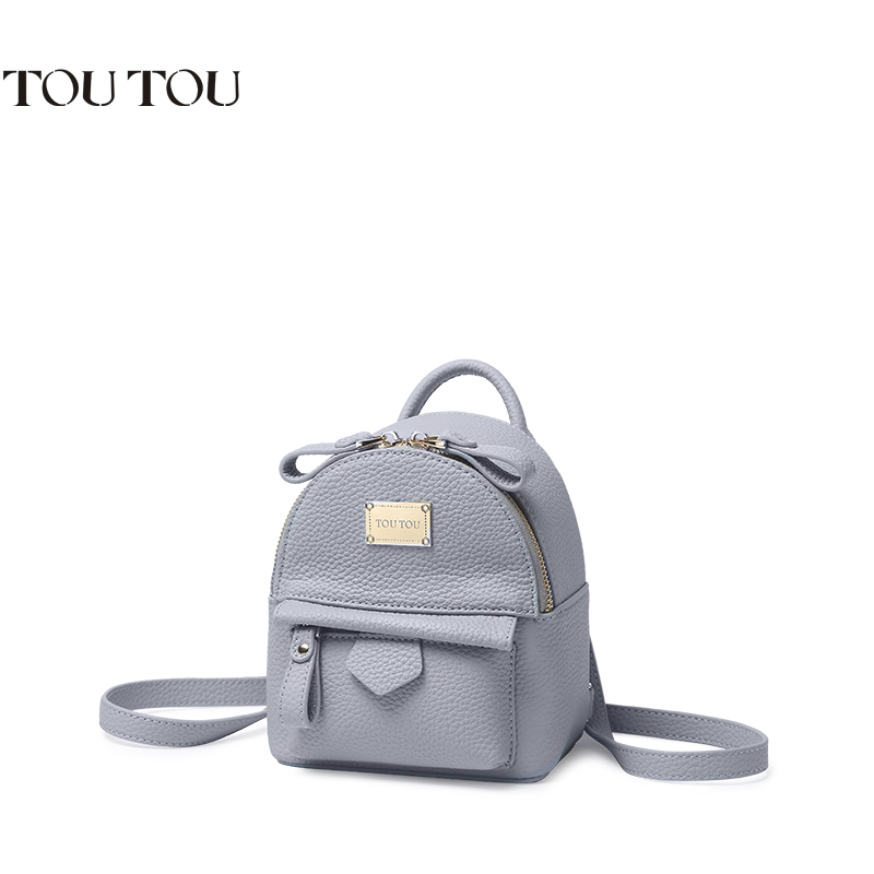 A1607 2016new brand Hot Fashion Women Backpack Good Quality Rivet School Backpacks Girls Pu Leather solid