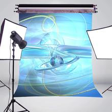 5x7ft Three Dimensional Lines Photography Backdrops Light Blue Backdrop Art Photo Studio Photography Background Wall snow background 5x7ft photography backdrops for photo studi photo background photography backdrop fond studio photo vinyle